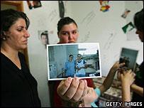 Family of shooting victims Hazar and Dina Turki