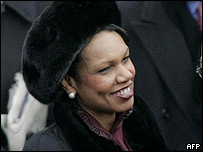 Designate US Secretary of State Condoleezza Rice