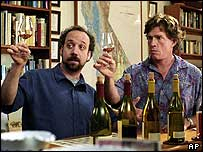 Thomas Haden Church (right) and Paul Giamatti in Sideways