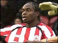 Brentford defender Sam Sodje
