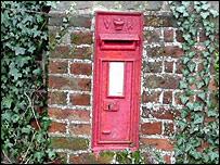 Rural post box
