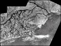 Imagen de Titán, transmitida por la sonda Huygens