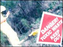 Toxic waste dump, Eyewire