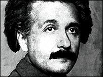 Einstein in 1921