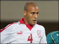 Tunisian defender Alaeddine Yahia
