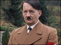 Michael Sheard as Adolf Hitler in Rogue Male