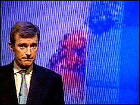 Jeremy Vine in the studio
