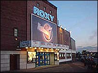 The Roxy cinema, Hollinwood - pic courtesy of the Roxy cinema