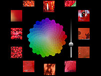 Image of an experimental Flickr application by Jim Bumgardner