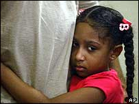 Three-year-old girl who fled to Florida with her parents