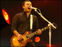 James Dean Bradfield of the Manic Street Preachers