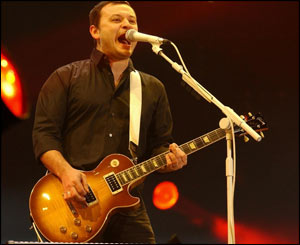 James Dean Bradfield of the Manic Street Preacers