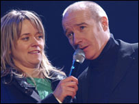 Midge Ure and DJ Edith Bowman