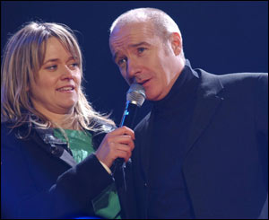 Midge Ure and Edith Bowman