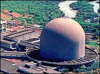 The Bhabha atomic plant outside Mumbai, India