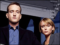 Matthew Macfadyen and Keeley Hawes in Spooks