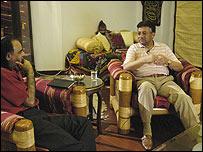 Ziauddin Sardar with President Pervez Musharraf