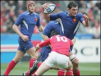 The rules on tackling in rugby