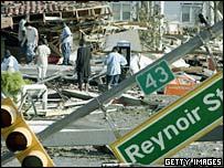 Scenes of devastation in Biloxi Mississippi