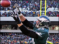 Eagles tight end Chad Lewis