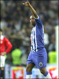 FC Porto and South Africa's Benni McCarthy