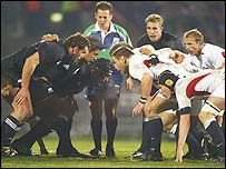 The laws of scrummaging