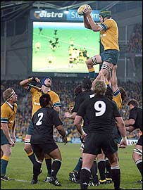 What is a line-out?