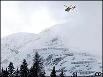 Helicopter search, St Anton