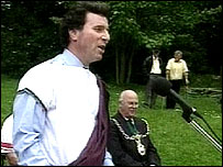 Oliver Letwin in the toga