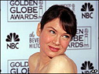 Hollywood actress Renee Zellweger