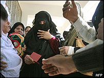 Palestinian voters