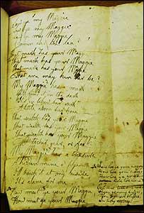 Burns' manuscript