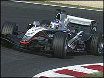 McLaren's new MP4-10 Formula One car