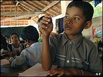 Sri Lanka pupil