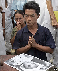 Ethnic Chinese shaman tries to give information about a missing Thai girl, 18/01/05