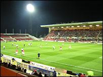 County Ground in Swindon