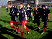 Liverpool academy youngsters 