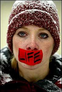 Pro-life activist Heather Pollard