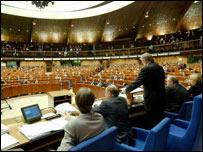 Зал заседаний ПАСЕ (Фото с сайта Совета Европы)