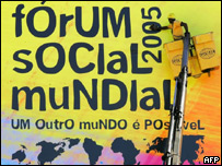 Poster for the World Social Forum 2005