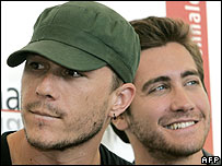 Heath Ledger and Jake Gyllenhaal