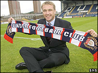 Alan Kernaghan at Dens Park