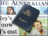 A high number of points are usually needed to obtain an Australian passport