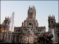 Madrid's Plaza Cibeles