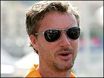 Former Formula One driver Eddie Irvine