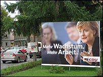 CDU election poster in Thuringia