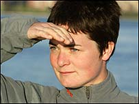 Ellen MacArthur. Photo: Billy Black/DPPI/Offshore Challenges
