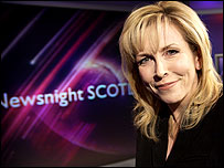 Newsnight Scotland presenter Anne Mackenzie