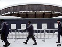 Centro de conferencias en Davos.