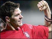 Steven Gerrard scored the only goal
